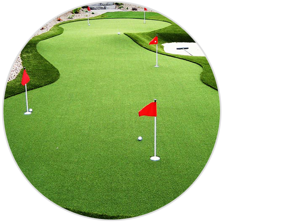 image of custom putting green