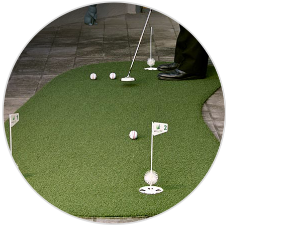 Portable Mats & Putting Greens